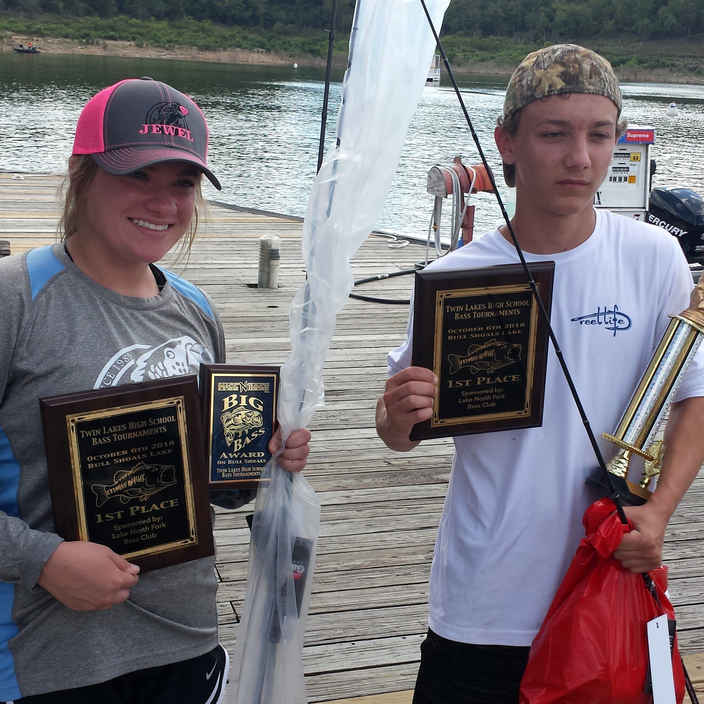 Barron, Lee win first at high school bass tourney