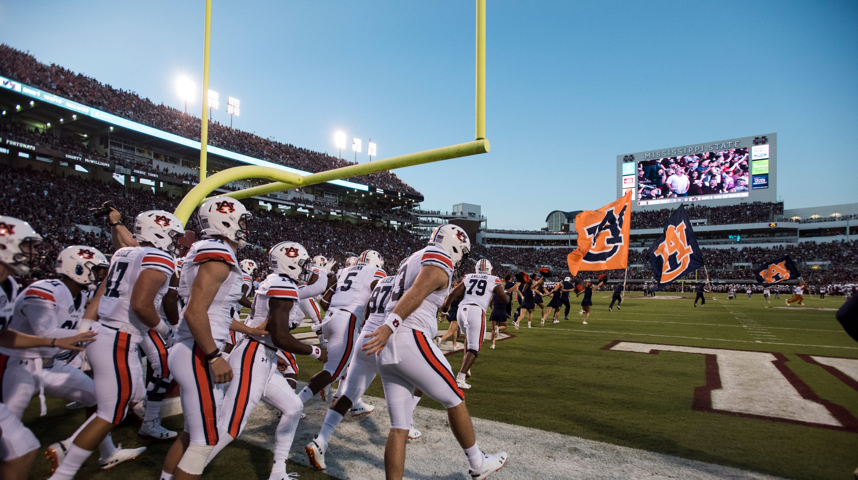 Auburn expects to turn season around in second half, which ...