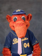 Big Mo of the Montgomery Biscuits