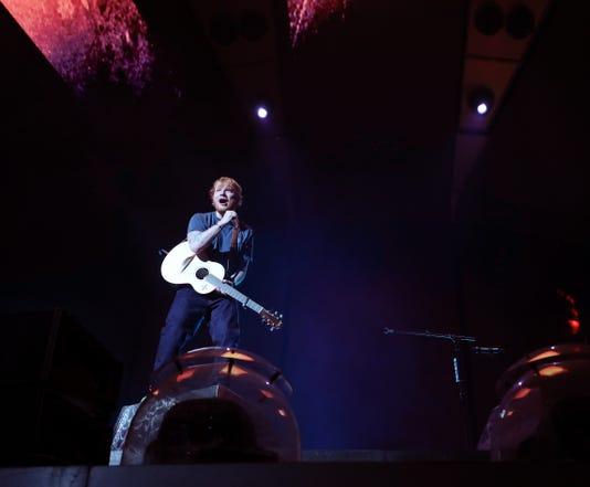 Nas Ed Sheeran Concert 11
