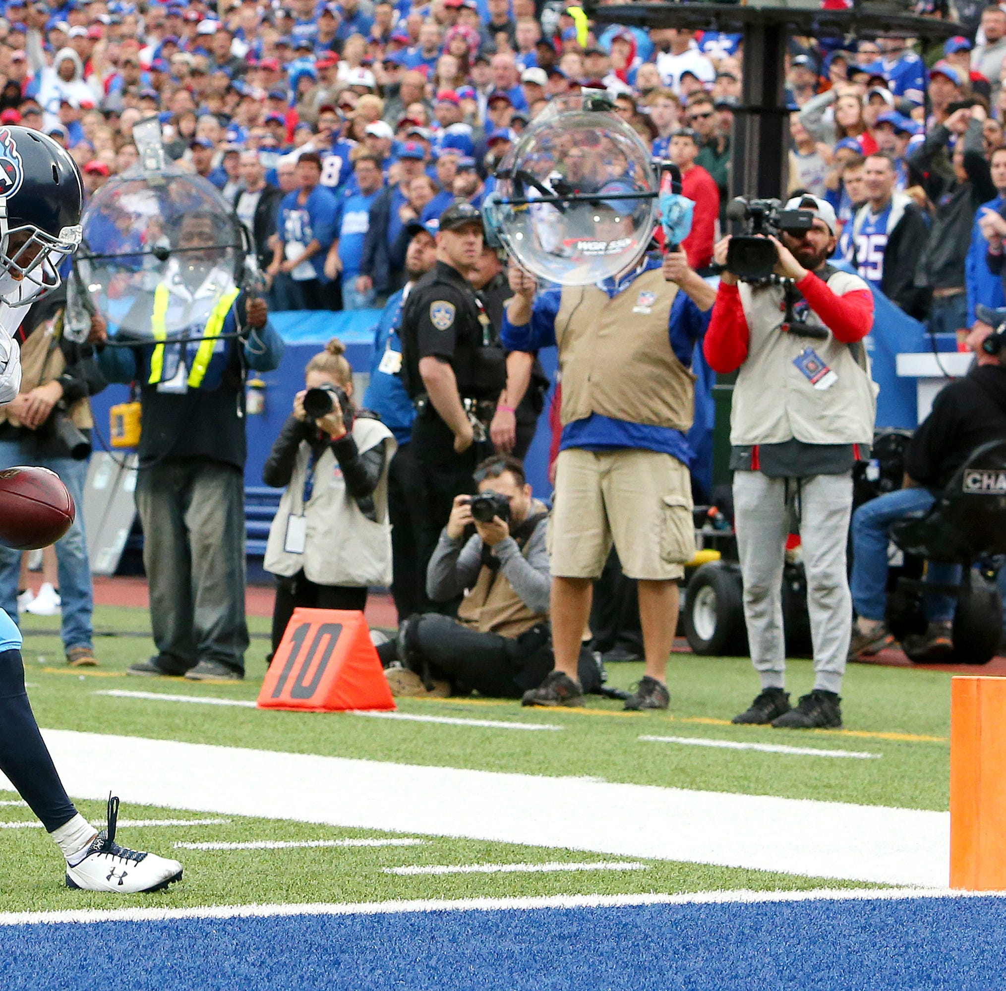 Titans release Nick Williams after his wide-open drop vs. Bills