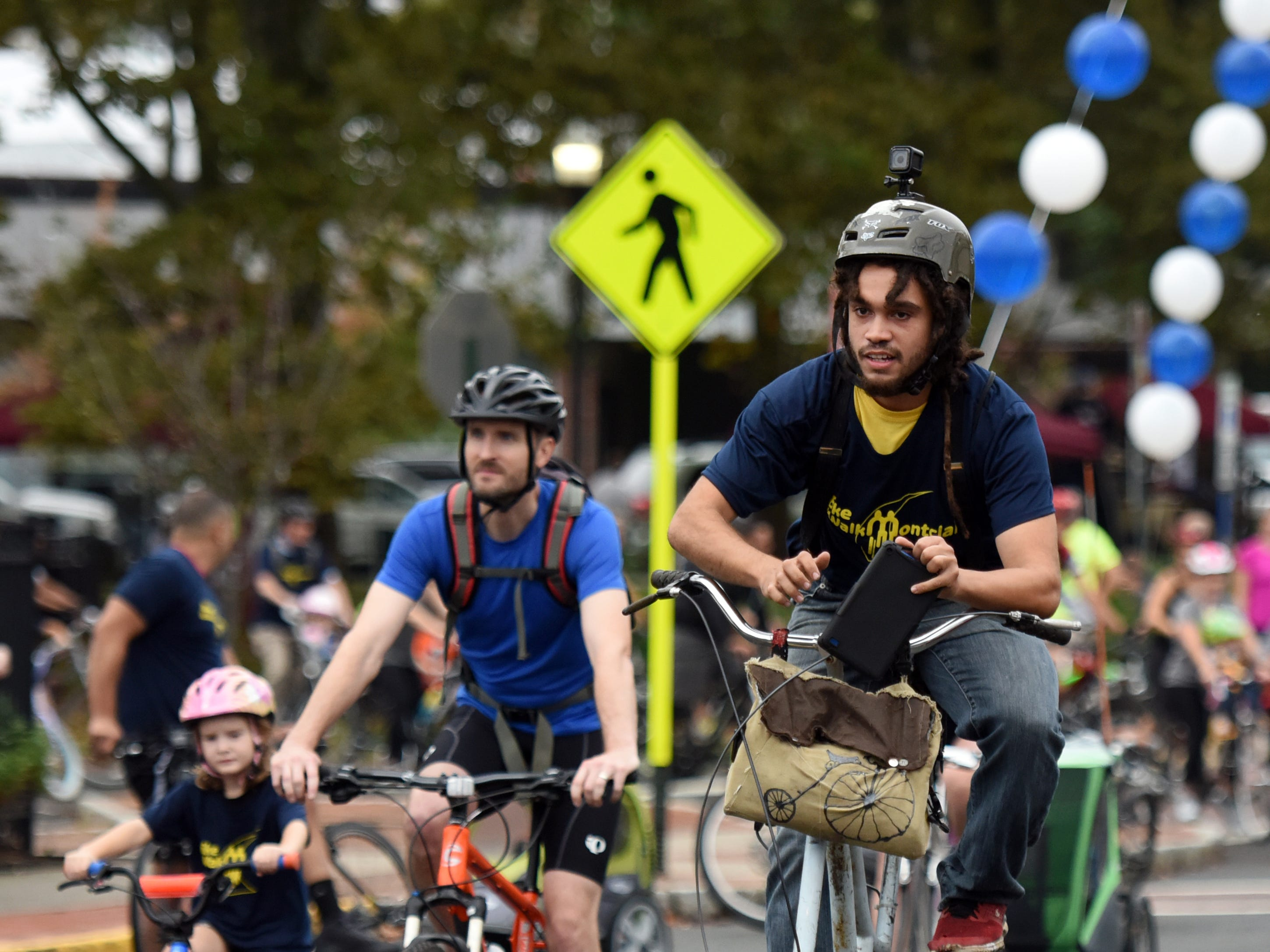 The Tour de Montclair a family-friendly bike ride with 6- and 12- mile options was held on Sunday, October 7, 2018.