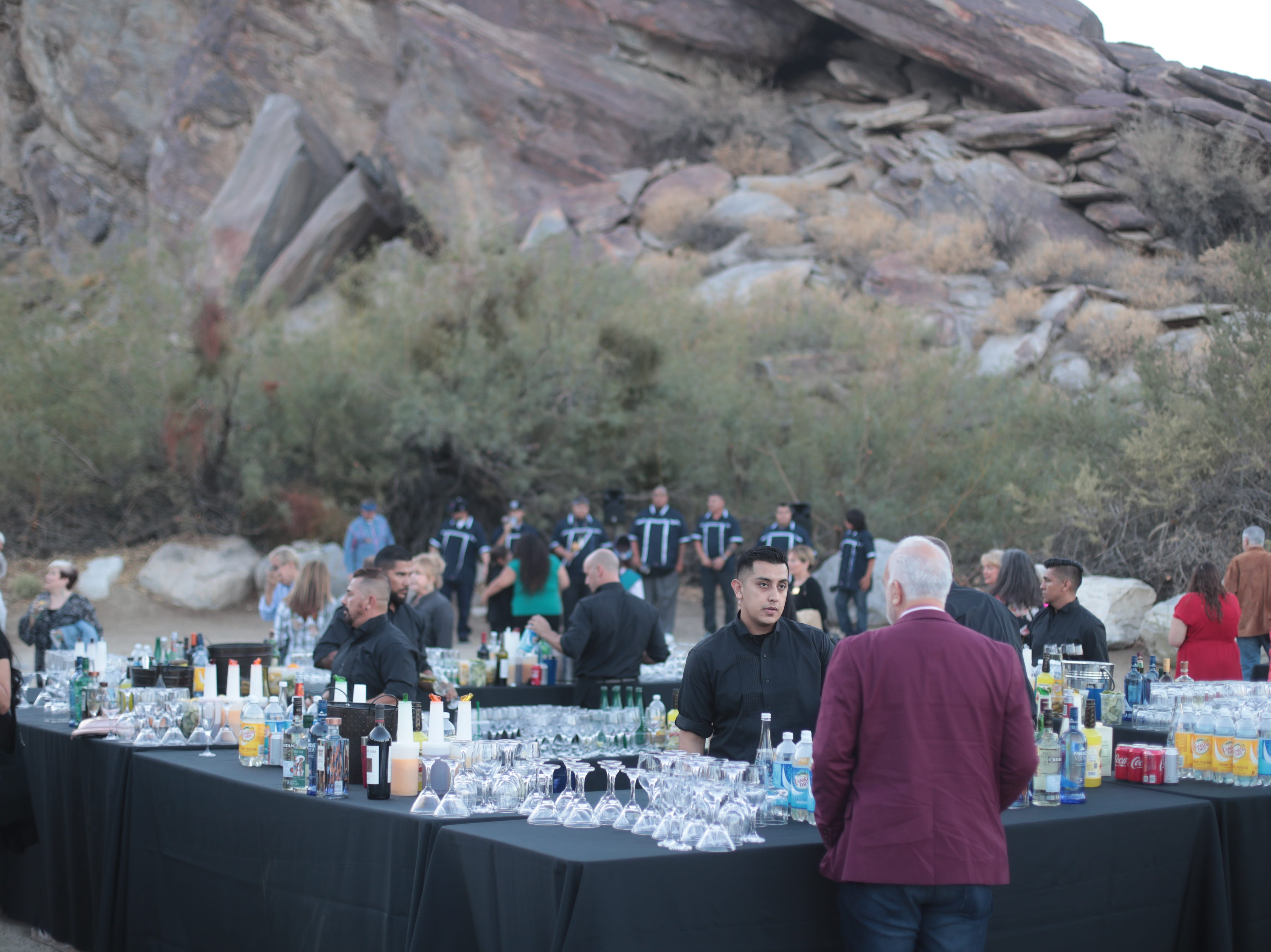 The Agua Caliente Band of Cahuilla Indians host the 2018 Dinner in the Canyons on Saturday, October 6, 2018 in Palm Springs.