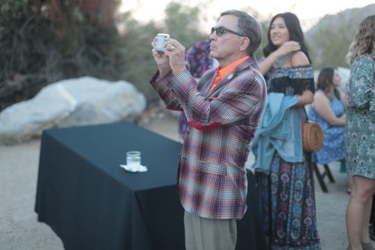 Palm Springs Mayor Rob Moon was among the dignitaries at the Agua Caliente Band of Cahuilla Indians 2018 Dinner in the Canyons on Saturday, October 6, 2018 in Palm Springs.