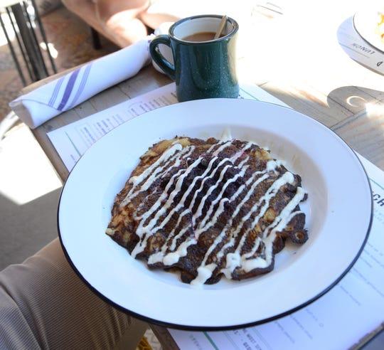 Sasso's Pancakes at Wexler's Deli in Palm Springs