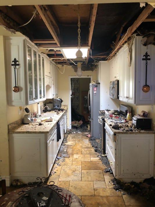 Scottsdale house fire lightning