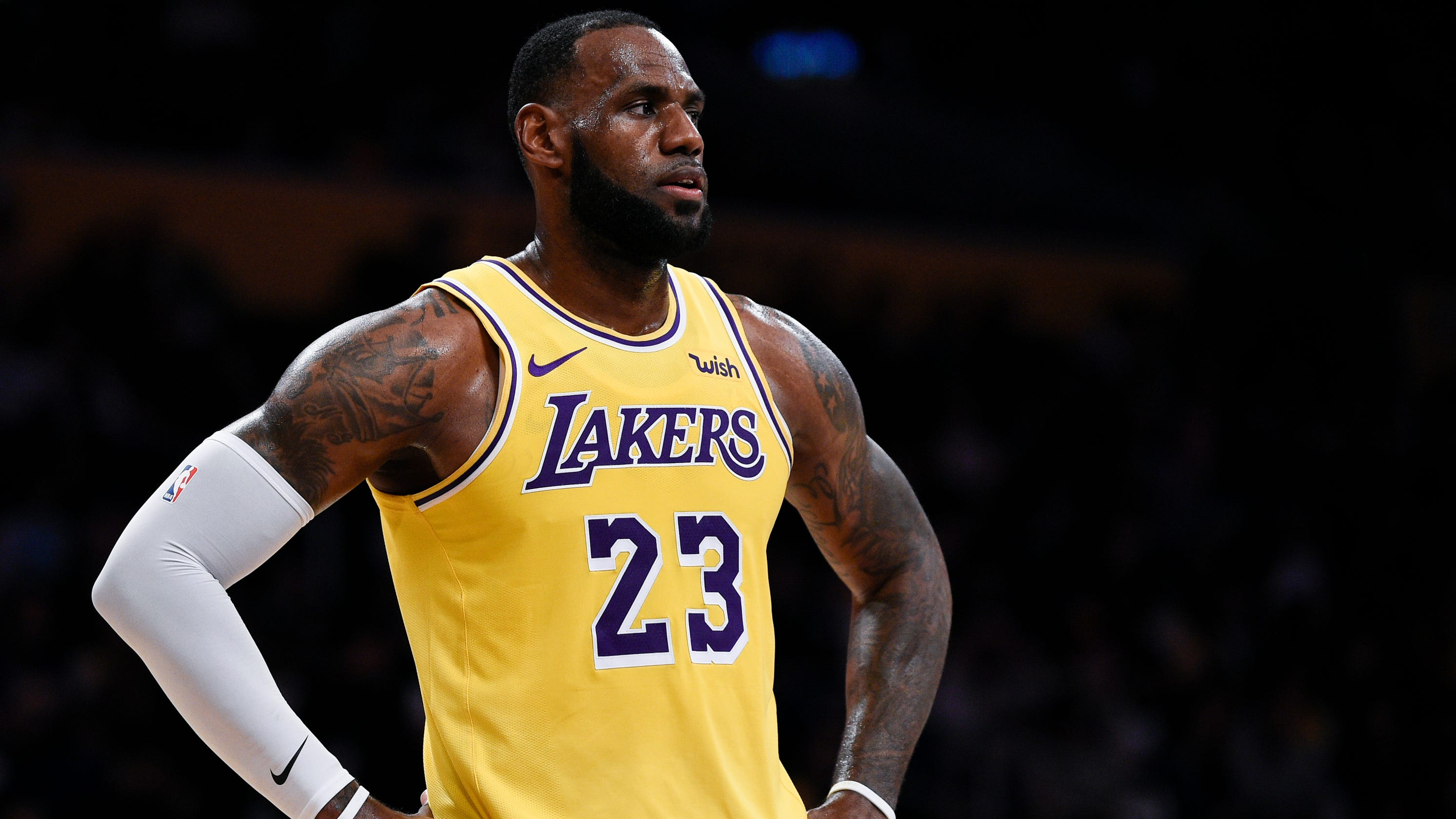 Can LeBron James  Los Angeles Lakers challenge mighty Warriors  a42e0cf4c