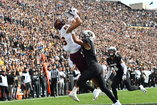 Ncaa Football Arizona State At Colorado