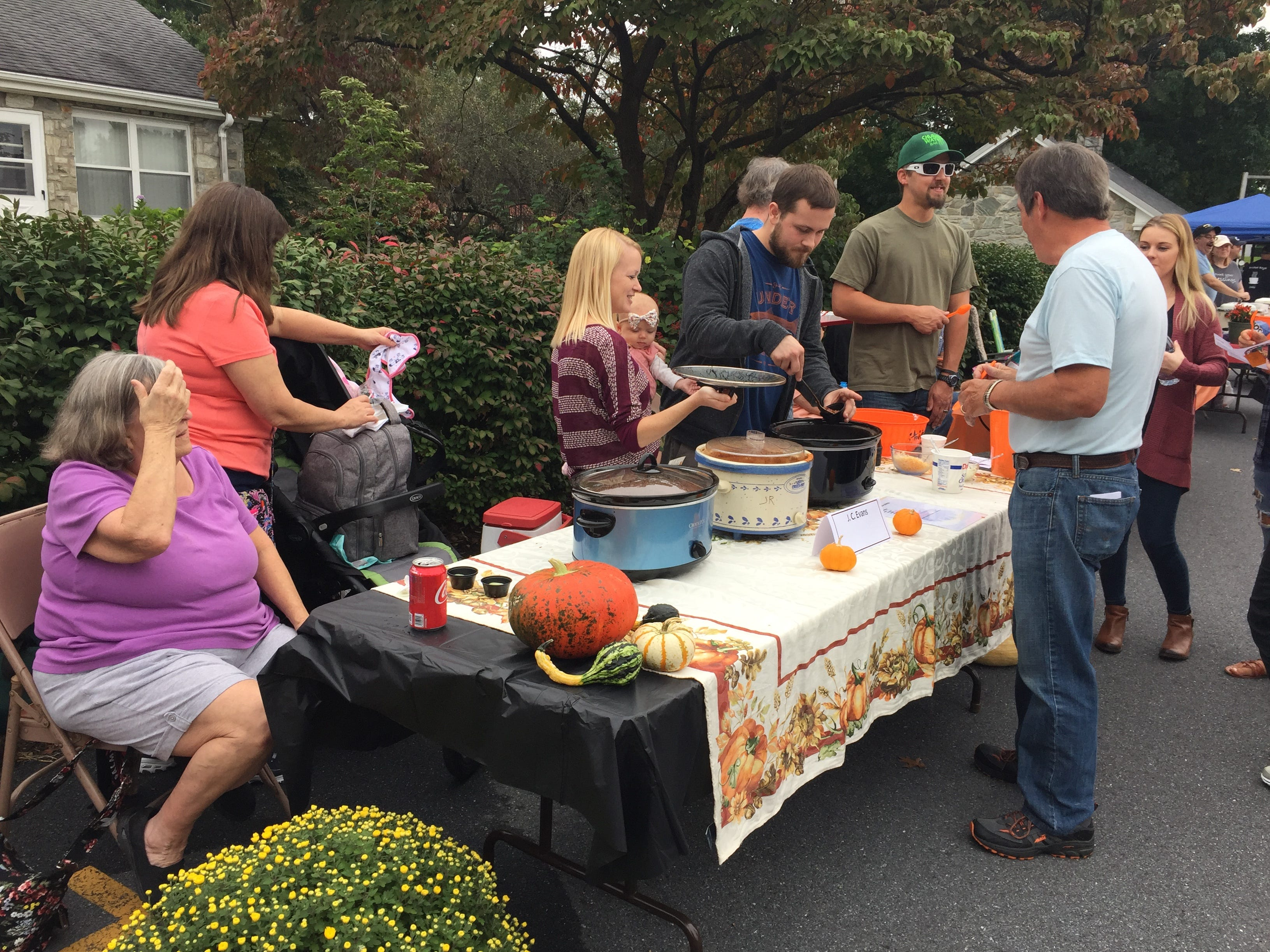 The third annual Palmyra Area Chilifest was held Saturday, Oct. 6 at First United Methodist Church in Palmyra. More than 15 cooks went after the People's Choice Award as the top chili chef in the region. A hot pepper eating contest was also conducted.
