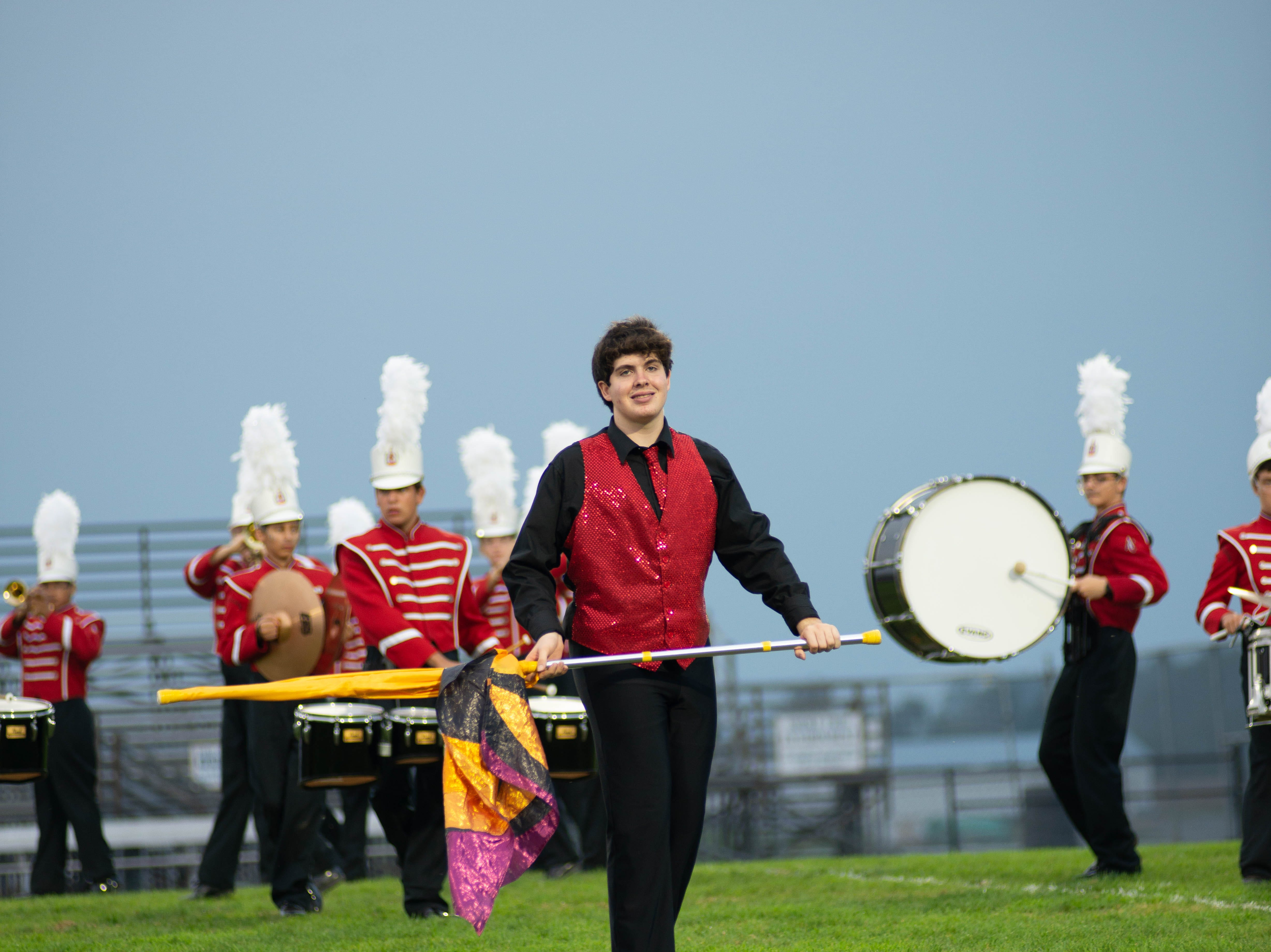 The marching bands for the six Lebanon County high schools -- Annville-Cleona, Palmyra, Northern Lebanon, Cedar Crest, Elco and Lebanon -- performed Saturday, Oct. 6 at Elco High School.