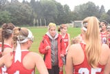 After its win over Rhinebeck on Saturday, the Red Hook field hockey team discusses its bowling outing and now having competition in Section 9 Class B.