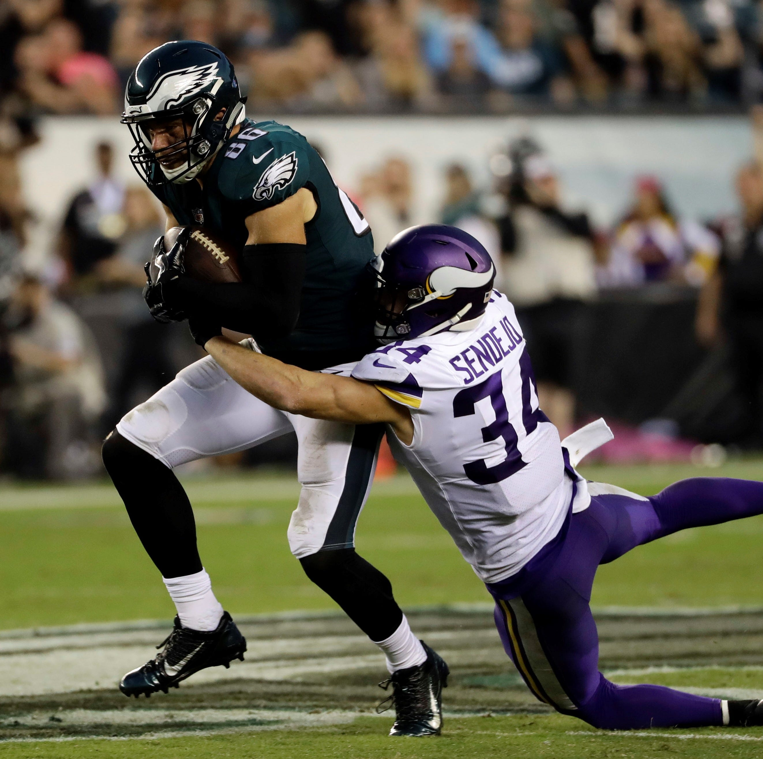 Philadelphia Eagles fall to 2-3 on season after 23-21 setback against Minnesota Vikings