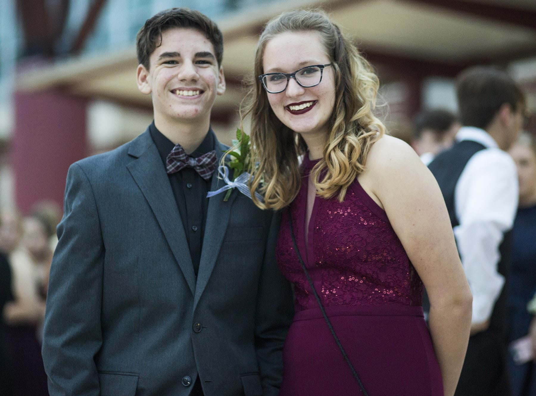 Students attend the Central York High School homecoming dance, Saturday, October 6, 2018.