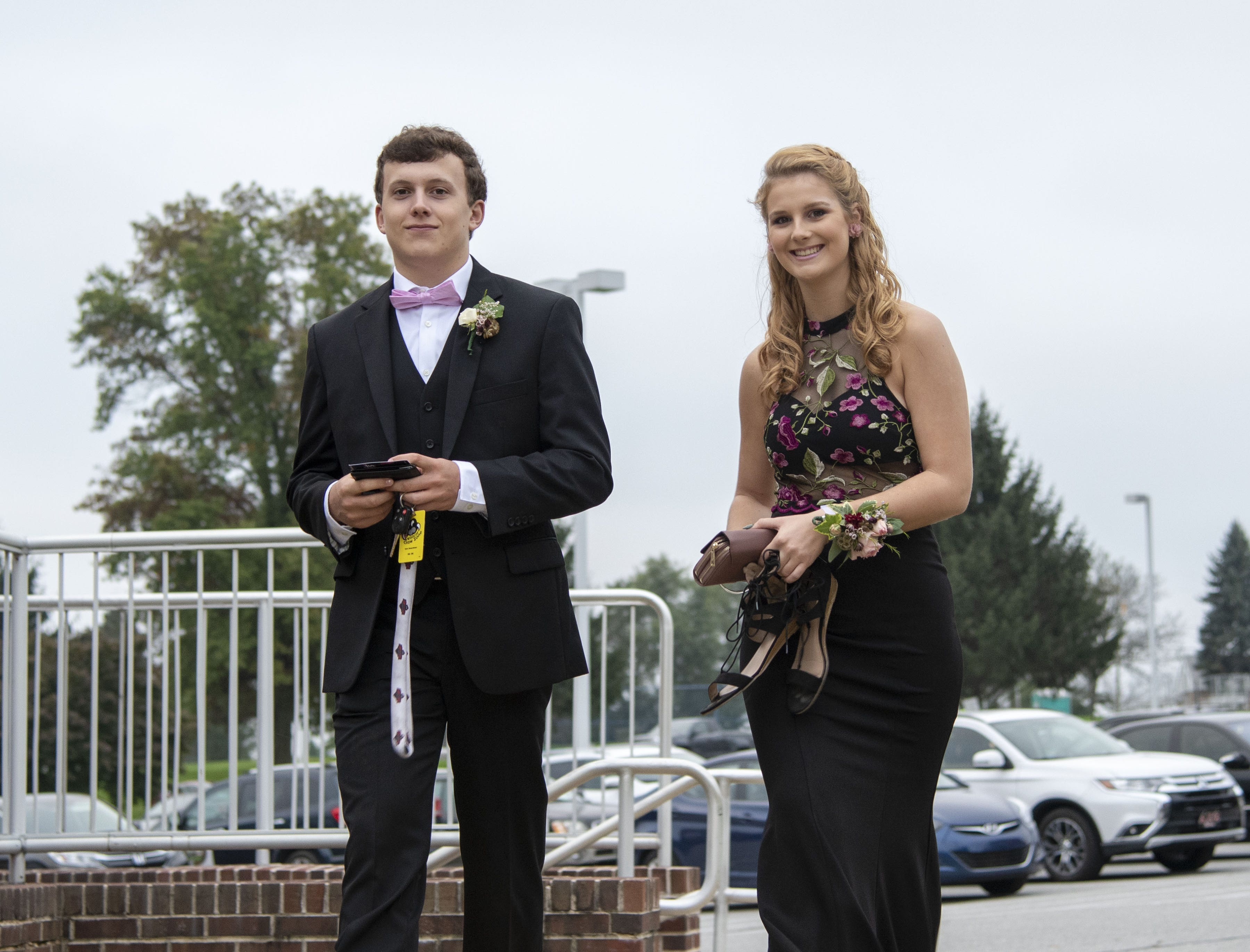 Students arrive to their 2018 High School homecoming dance on Saturday, Oct. 06, 2018.
