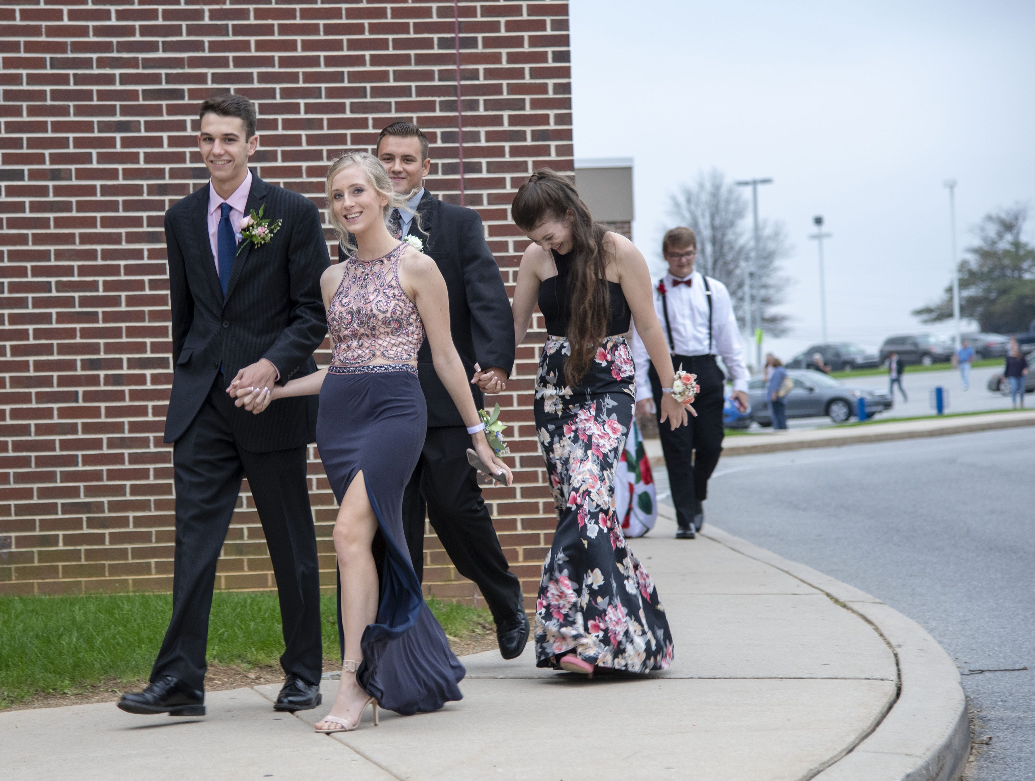 Students attend the 2018 Dallastown Area High School homecoming on Saturday, Oct. 06, 2018.