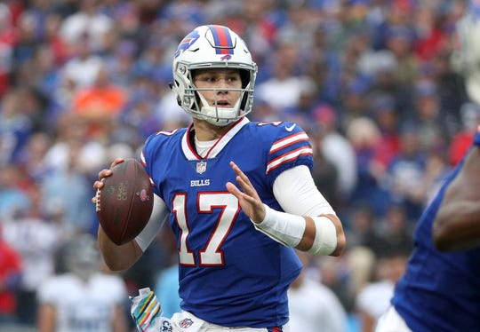 Bills rookie QB Josh Allen has been an eager learner. He said he's eager to get started working with veteran Derek Anderson in the Bills quarterback room.