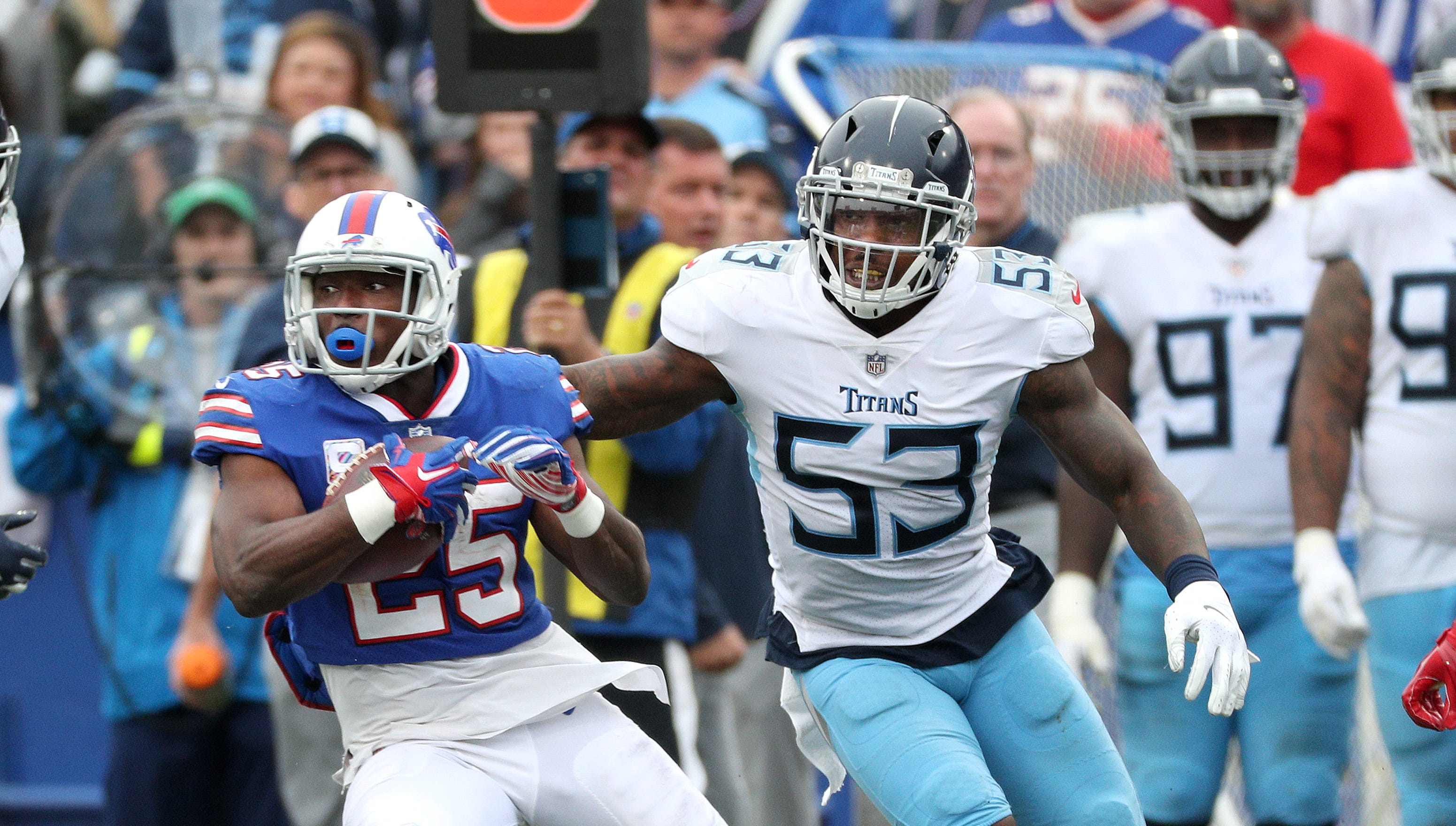 McCoy has been a gift that keeps giving for the Bills but it's time to trade the veteran running back for picks, players to keep rebuilding job going