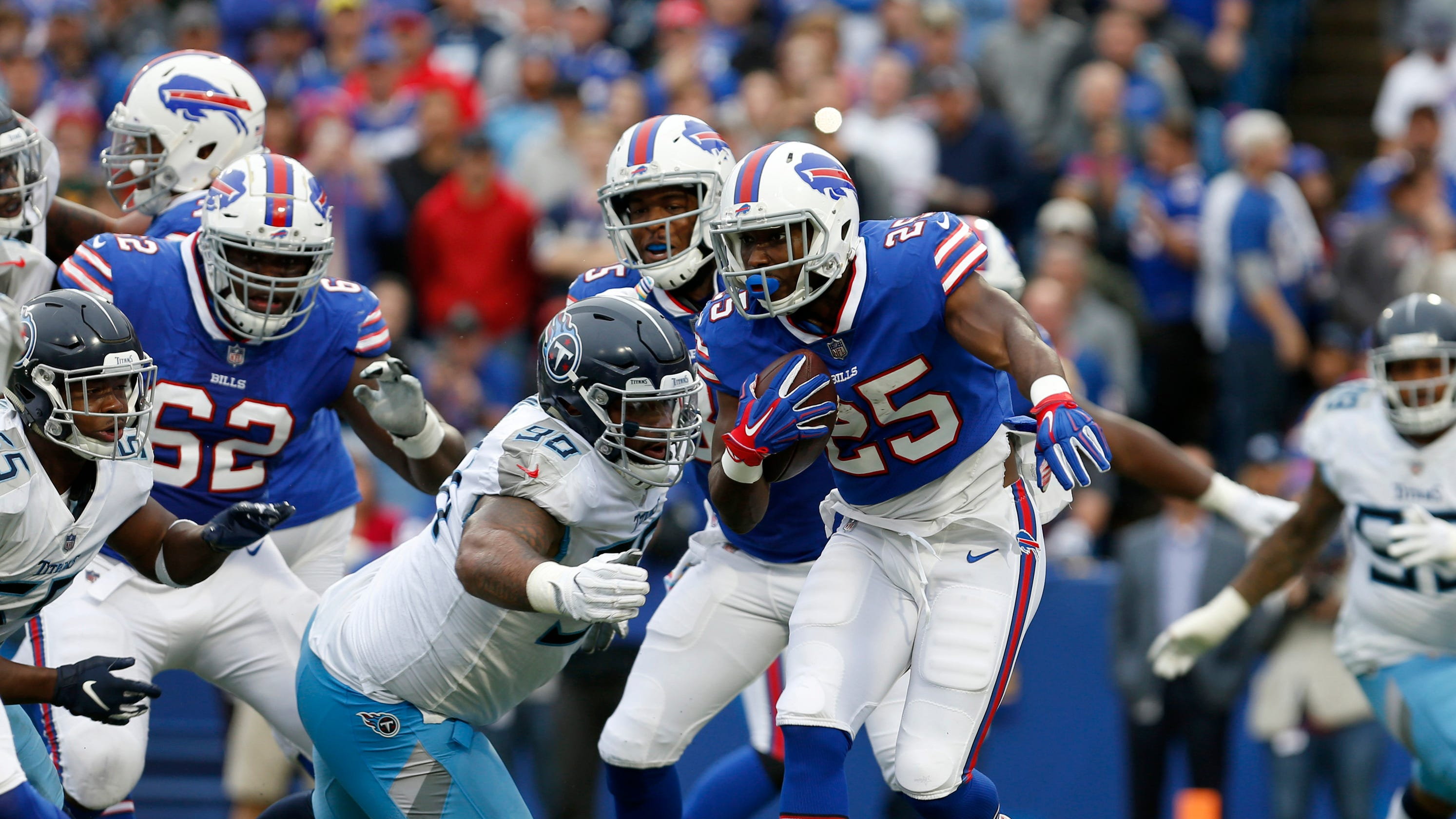 Buffalo Bills Defeat Tennessee Titans On Last Second Field Goal
