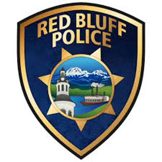 Red Bluff Police Logo