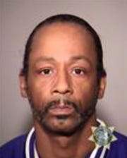This image provided by the Multnomah County Jail shows Katt Williams who was arrested on suspicion of assaulting a driver. Williams is in jail Sunday, Oct, 7, 2018.