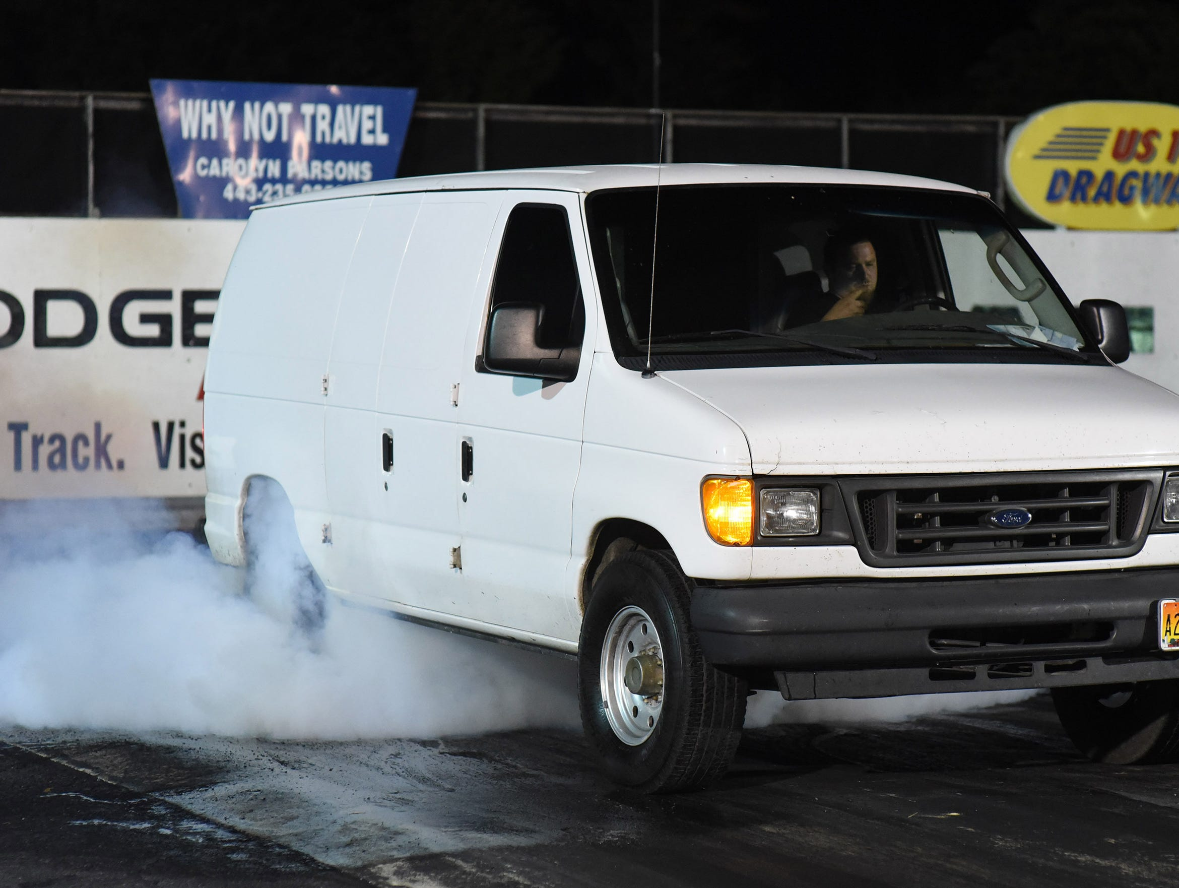 A participant competes in the first Endless Summer Cruisin' 2018 Burnout Contest at the U.S. 13 Dragway in Delmar. Billy McLamb of Mardela Springs was the winner of the contest and $500 sponsored by Special Event Productions Inc. (Photo by Todd Dudek for The Daily Times)
