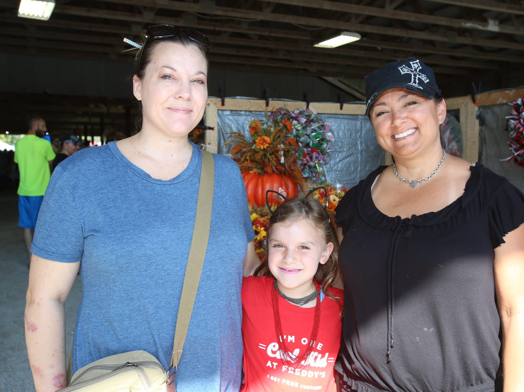 Becky and River Velasco and Bernadette Losh