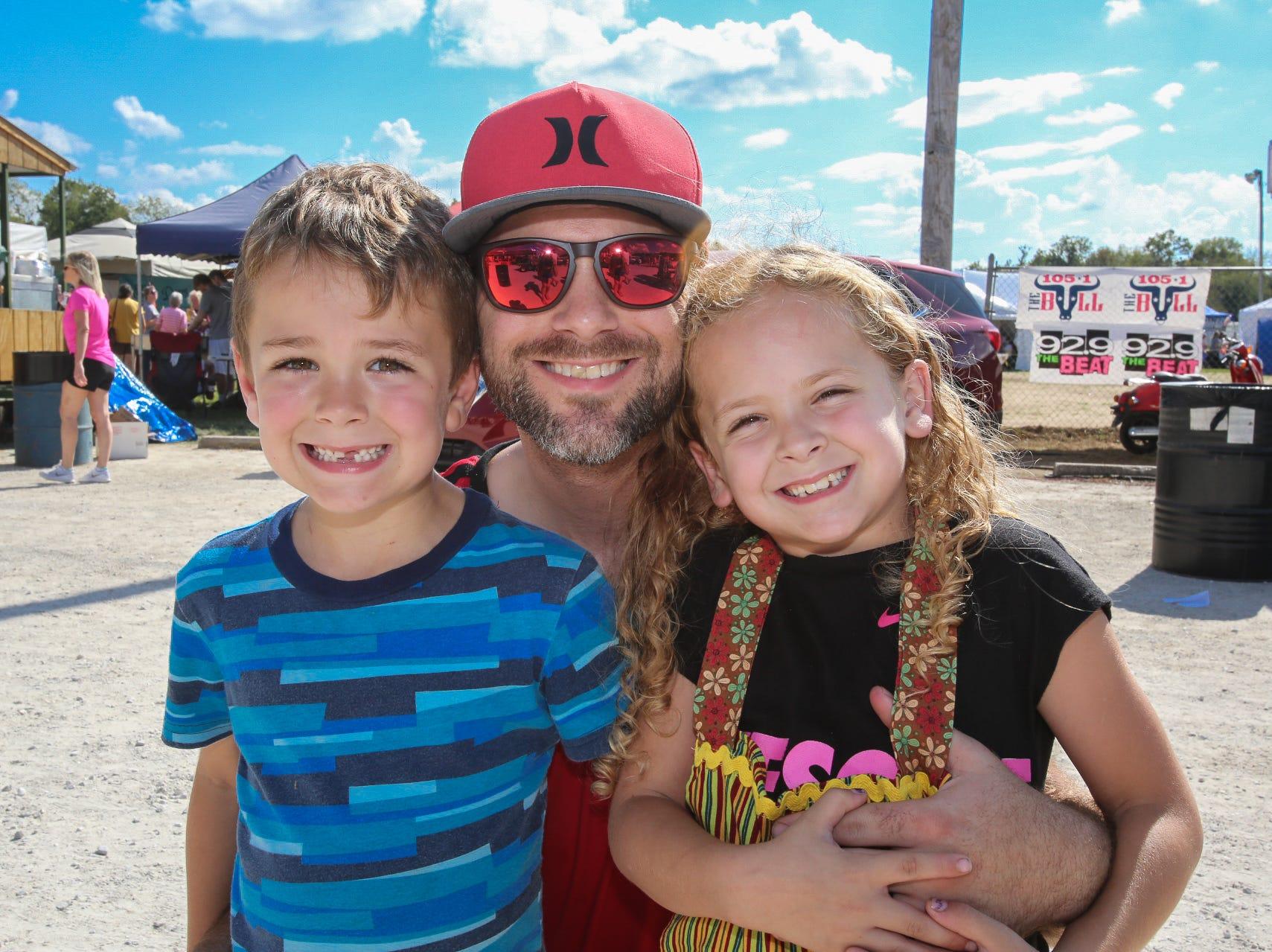 Buddy, Jackson, and Ellie Sullivan