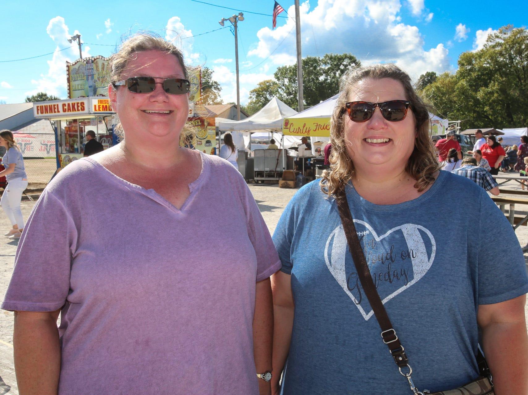 Laura Fullington and Jennifer Crandall