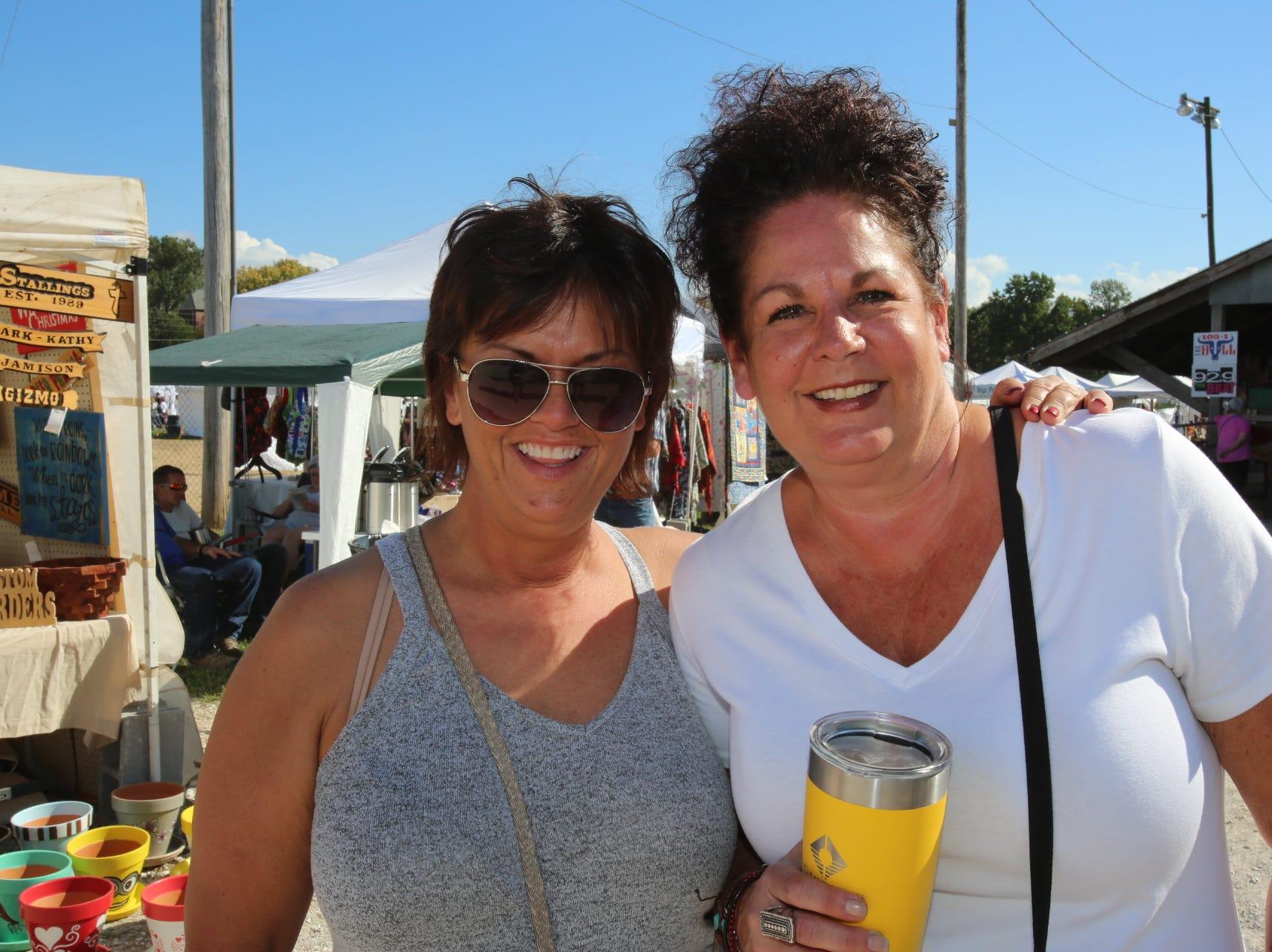 Cathy Lyon and Tammy Davidson