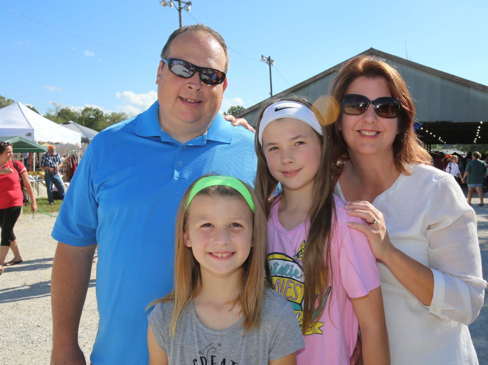 Eric, Lori, Abbi, and Ashlyn Street