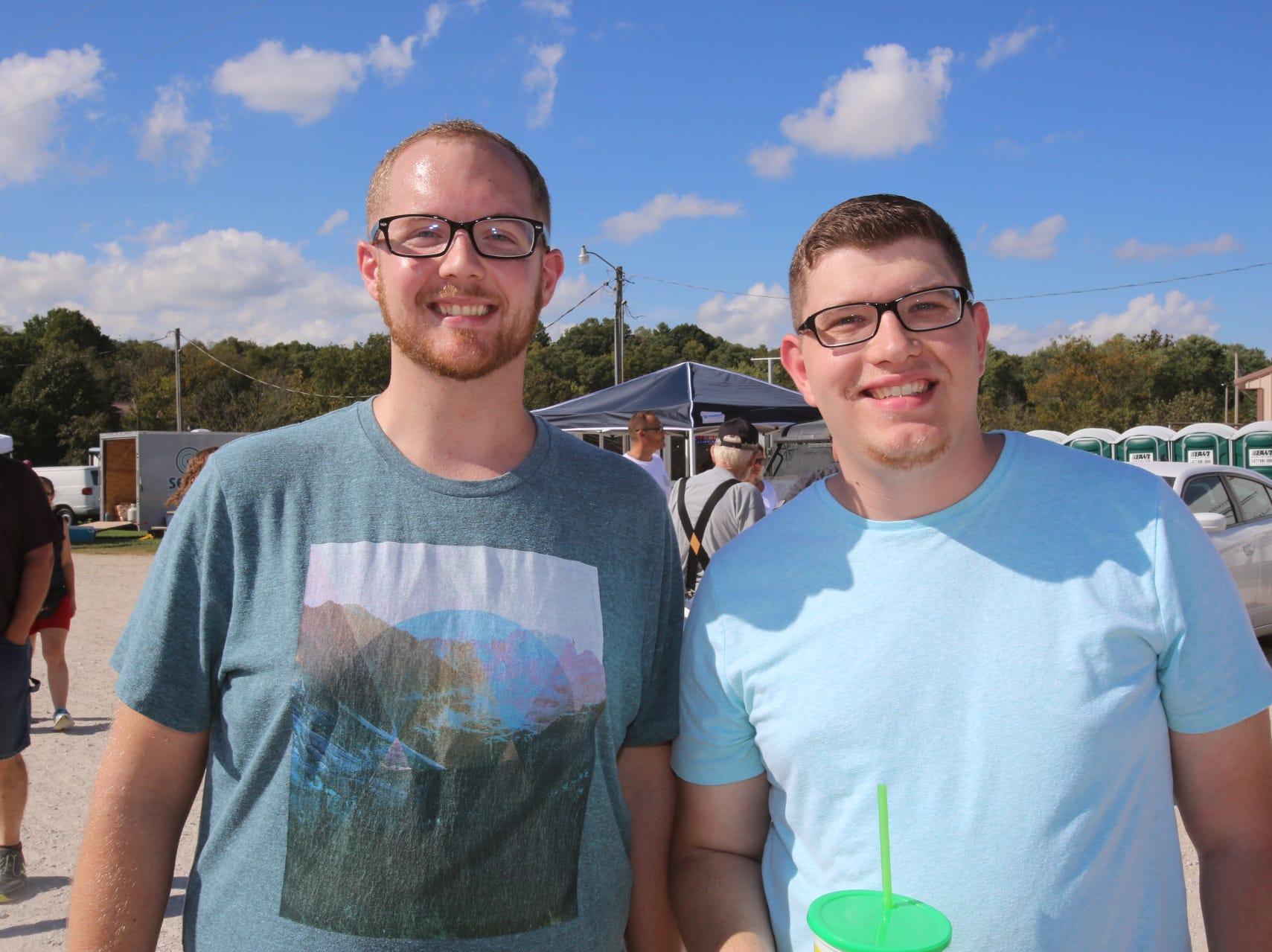 Derrik and Ethan