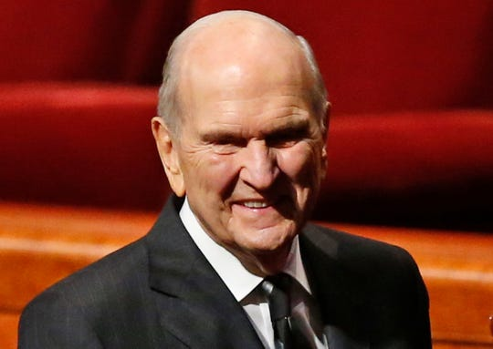 President Russell M. Nelson of The Church of Jesus Christ of Latter-day Saints is slated to speak Sunday to some 68,000 church members.