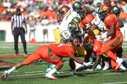 Florida A&M's defense smothered the running lanes for Norfolk State. The unit posted a shutout for the first time since 2000.