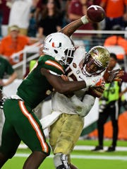 Jonathan Garvin tallied 17.5 tackles for loss as a sophomore at Miami, but that dropped to nine last season.