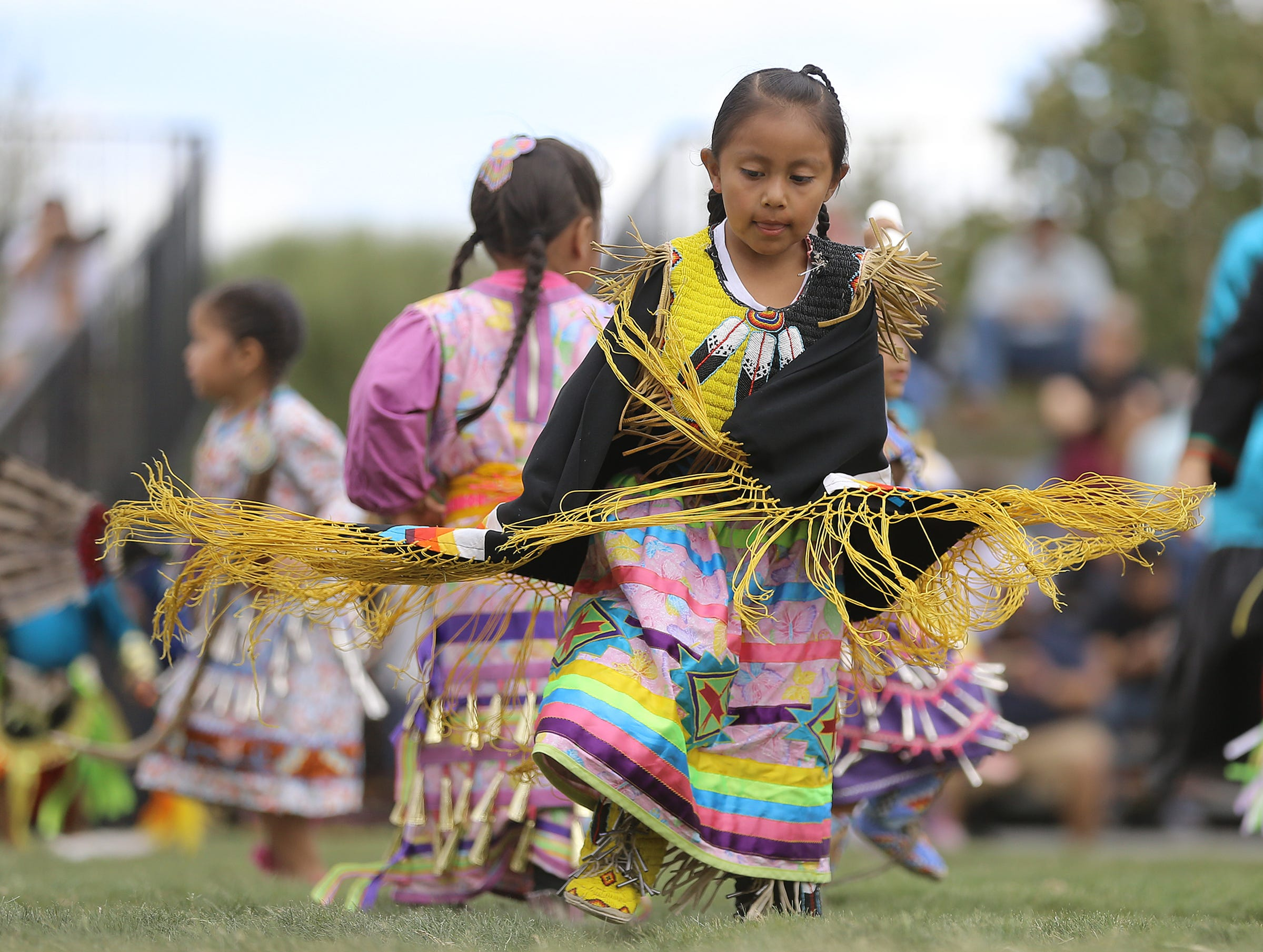 Tribes from all over the country descended on the Ysleta del Sur Pueblo for their annual Rocking the Rez Pow Wow this weekend. Youngsters dressed in traditional regalia of various tribes watched in awe as elders competed in dance before taking their turn in the circle.  Bleachers were full of onlookers in awe of the beautiful culture being shared by several tribes.