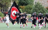 Rye beat Harrison, 41-14, in the 89th meeting of the rivals Oct. 7, 2018 at Rye High School.