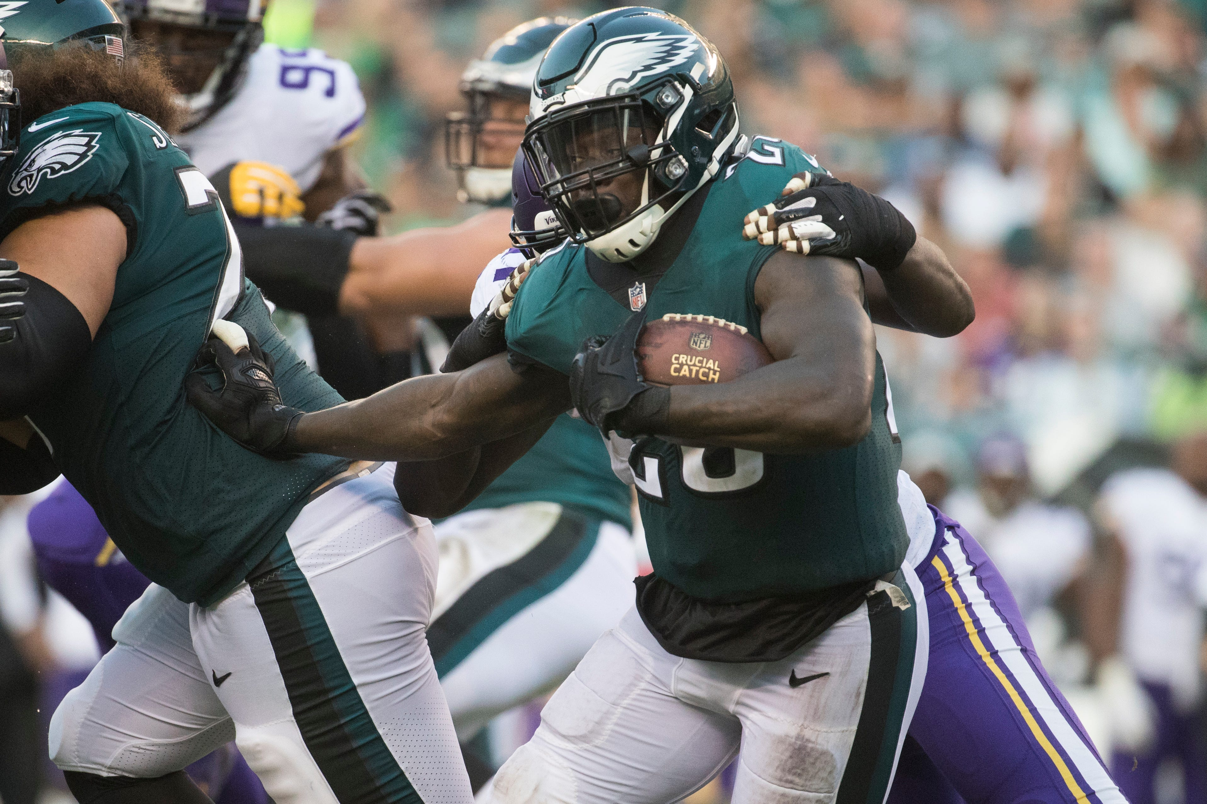 Eagles place running back Jay Ajayi on IR; could a Le'Veon Bell trade be next?
