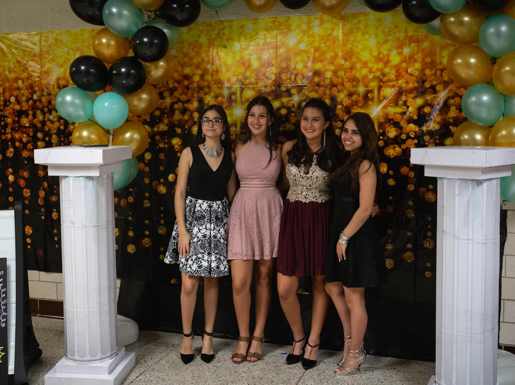 Students attend Christiana High School's homecoming on Friday, Oct. 6, 2018.