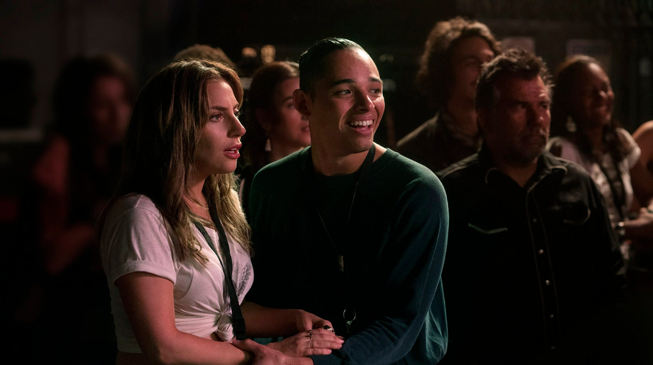 A Star Is Born Anthony Ramos Takes Off As Lady Gaga S Best Friend