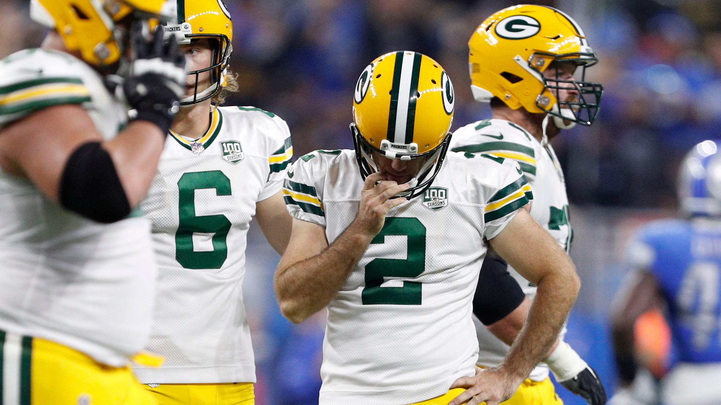 b1fcdfb5d Green Bay Packers doomed by Mason Crosby s misses in loss to Lions