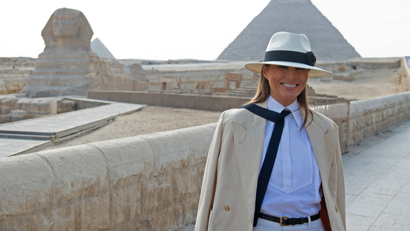 2d0ff0903c7d Melania Trump says controversial jacket was for  left-winged media