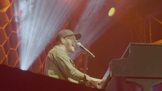 On this tour, DeGraw has had the flexibility to reconnect with friends and family scattered around the country. At this show in Flagstaff, Ariz., he invited his former piano teacher to jam with him on stage.
