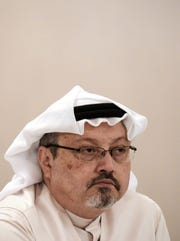 Jamal Khashoggi in a photo taken Dec. 15, 2014. The veteran Saudi journalist had gone missing after visiting the kingdom's consulate in Istanbul on Oct. 2, 2018.