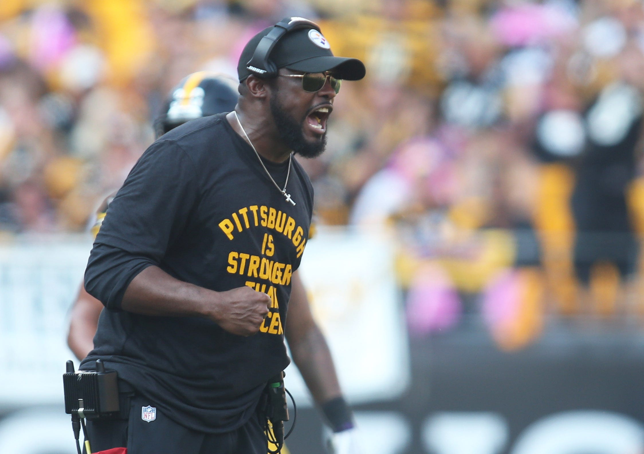 Pittsburgh Steelers Coach Mike Tomlin Some Nfl Penalties