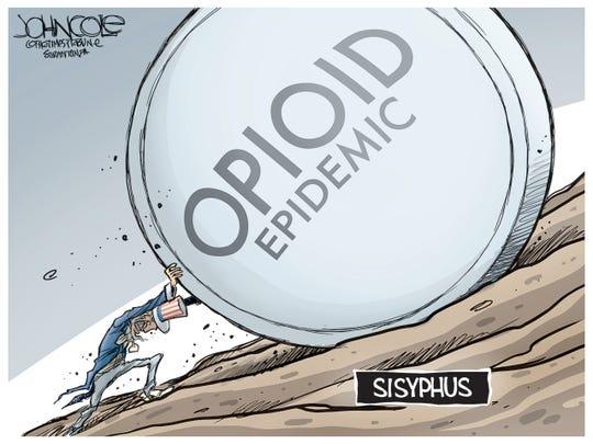 Opioid Sisyphus