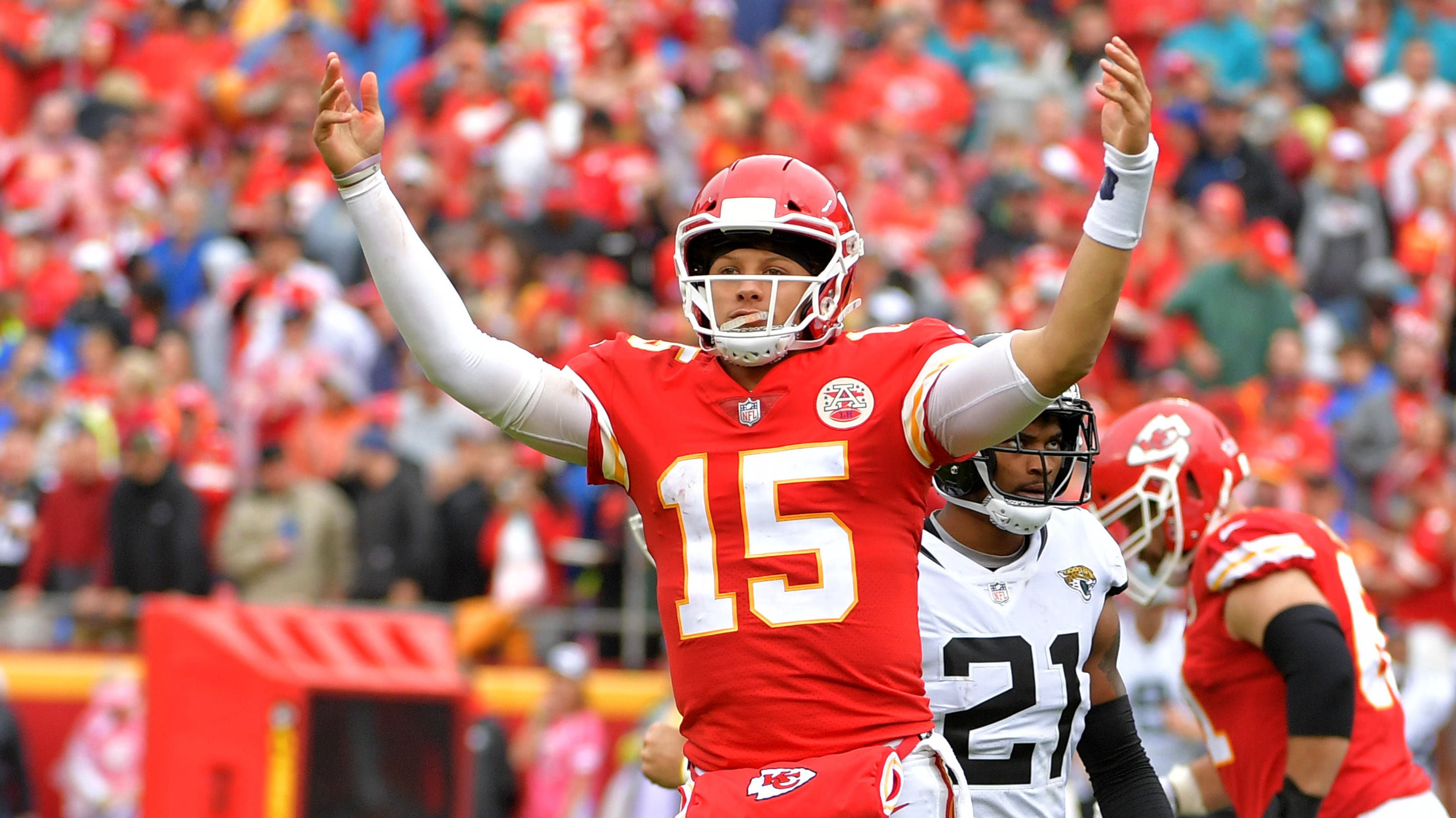 Patrick Mahomes, Kansas City Chiefs scorch Jaguars to stay ...