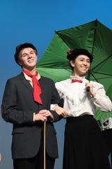 """Mary Poppins"" was the first show performed at the Wylie ISD's Performing Arts Center, which opened in 2018."