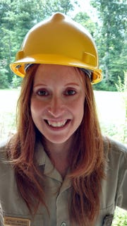 Michelle Aldridge is a planning specialist with the U.S. Forest Service in Asheville.
