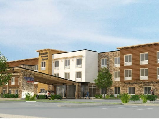 Another view of the proposed Poulsbo hotel.