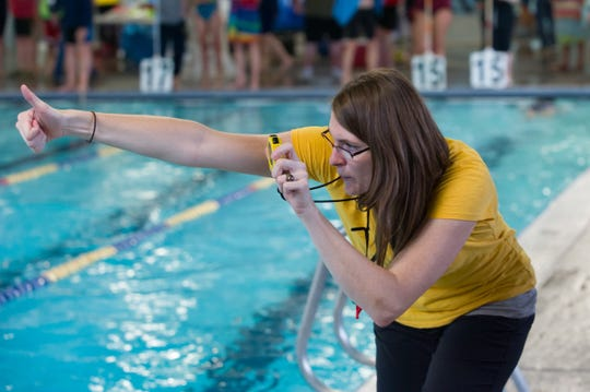 April Cheadle swam competitively at Eastmont High in Wenatchee and the University of Washington before launching her coaching career.